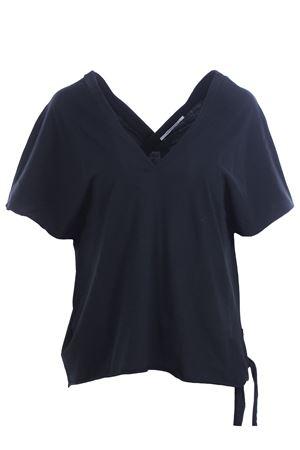 Cotton t-shirt raw cut effect POMANDERE | 8 | 191D1336111299