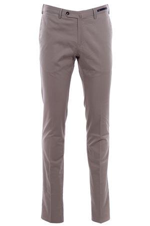 Pantalone in seta e cotone stretch PT01 | 5032272 | CODL01Z00RFTBB140040