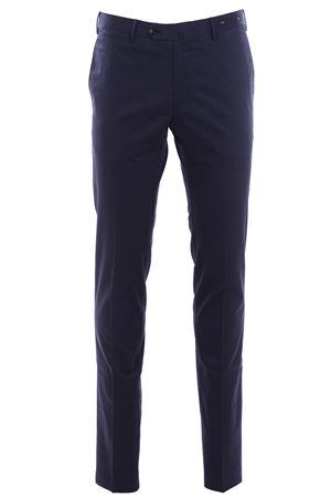 Silk and cotton pants PT01 | 5032272 | CODL01Z00RFTBB140360