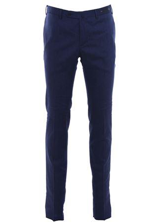 Pantalone deluxe sapphire in lana e lino PT01 | 5032272 | CODS01Z00DLXTR190350