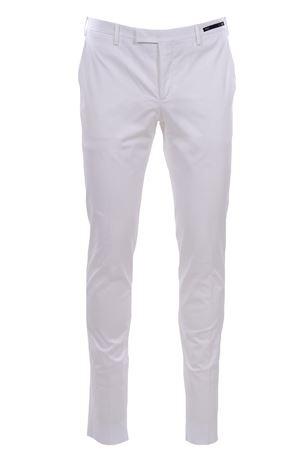 Pantalone business in cotone stretch PT01 | 5032272 | COKSZEZ10CL1MP270010