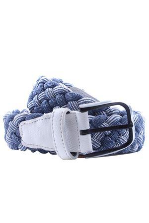 Cintura intreccio elastico bicolore SADDLER