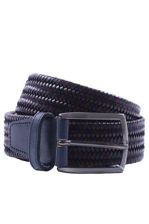 Cintura intreccio in pelle elastica SADDLER