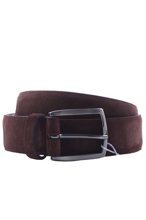 Suede belt