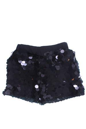 Shorts con paillettes SHOE | 30 | E9SF81BLACK