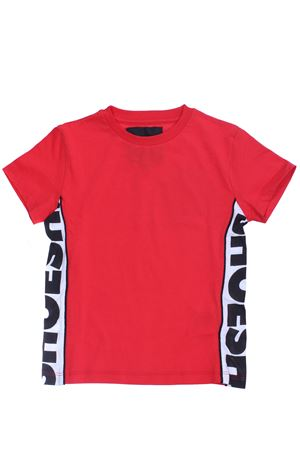 T-shirt girocollo in cotone SHOE | 8 | E9TM326RED
