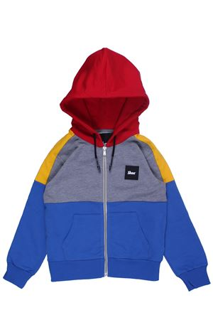 Sweatshirt with zip and hood