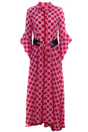 Long silk dress with belt SMARTEEZ   5032276   19ME633888136200