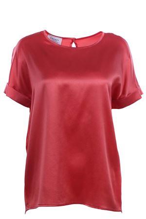 T-shirt girocollo in seta SNOBBY SHEEP | 8 | 58560CORALLO