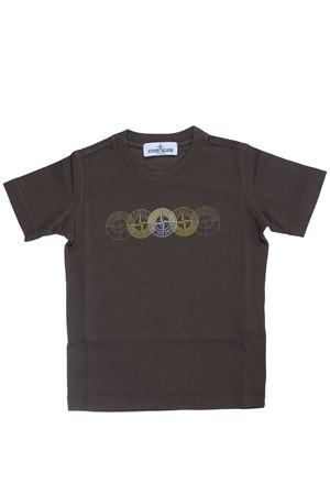 T-shirt girocollo in cotone STONE ISLAND | 8 | 701621451V0054