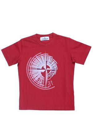 T-shirt girocollo in cotone STONE ISLAND | 8 | 701621453V0010