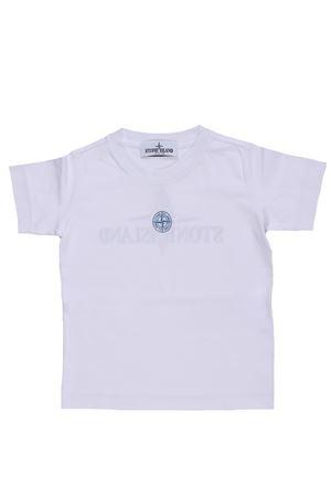 T-shirt girocollo in cotone STONE ISLAND | 8 | 701621454V0001