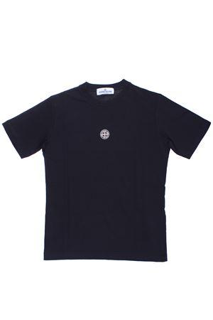 T-shirt girocollo in cotone STONE ISLAND   8   701621454V0029
