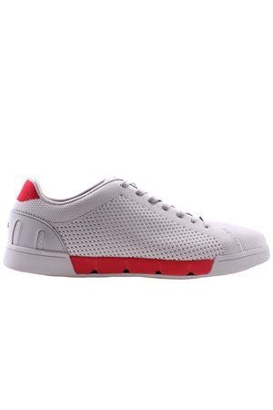 Breeze tennis knit SWIMS | 20000049 | 21285ALLOY/RED ALERT