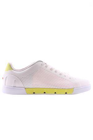 Breeze tennis knit SWIMS | 20000049 | 21285WHITE/LIMEADE