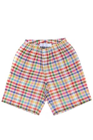 Shorts in lino multicolor TOURISTE | 30 | 91TS363TOC65