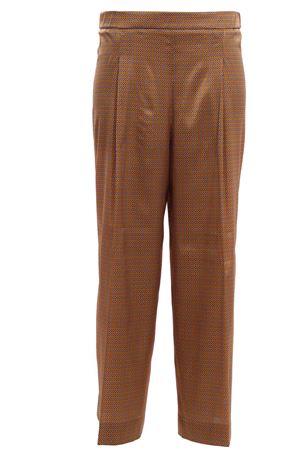 Pantaloni a palazzo in seta con pinces VIA MASINI 80 | 5032272 | VIA INDIPENDENZAP19M606MV746