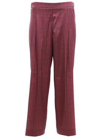 Pantaloni a palazzo in seta con pinces VIA MASINI 80 | 5032272 | VIA INDIPENDENZAP19M606MV748