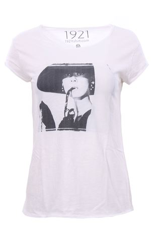 T-shirt con stampa 1921 | 8 | WOMAN00713