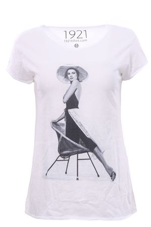 T-shirt con stampa 1921 | 8 | WOMAN00730