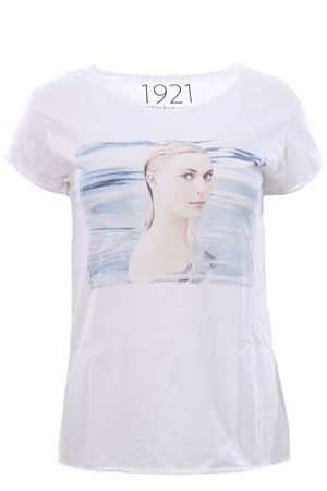 T-shirt with print 1921 | 8 | WOMAN00732
