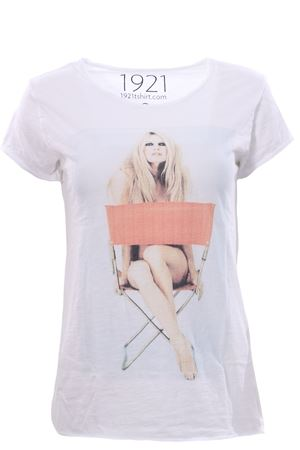 T-shirt con stampa 1921 | 8 | WOMAN00746