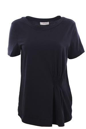 T-shirt in cotone con pieghe ALPHA | 8 | AD3405C9205