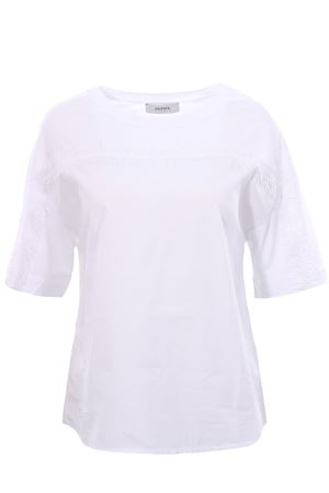T-shirt in cotone con frange ALPHA | 8 | AD3420C9204