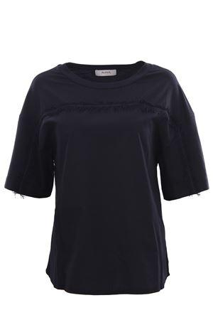 T-shirt in cotone con frange ALPHA | 8 | AD3420C9205
