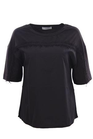 T-shirt in cotone con frange ALPHA | 8 | AD3420C9207