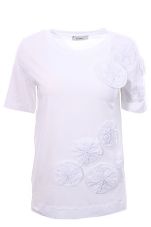 Cotton t-shirt with flowers