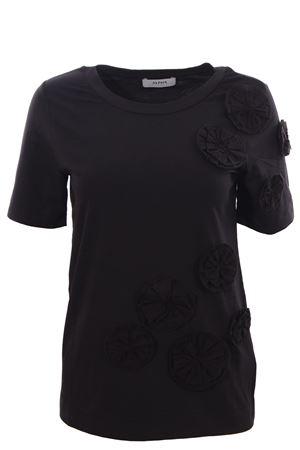 T-shirt in cotone con fiori ALPHA | 8 | AD3421C9207