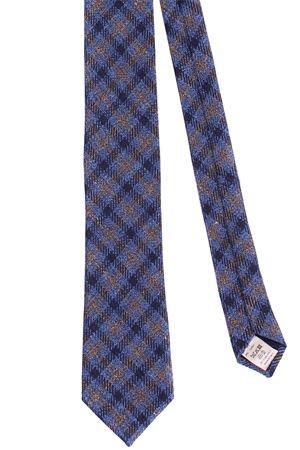 Checked tie