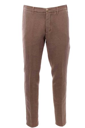 Cotton and linen pants