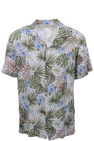 Camicia baker in lino stampa fiore ALTEA | 5032279 | 205403113
