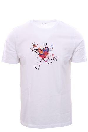T-shirt in jersey stampa cuore ALTEA | 8 | 205526729
