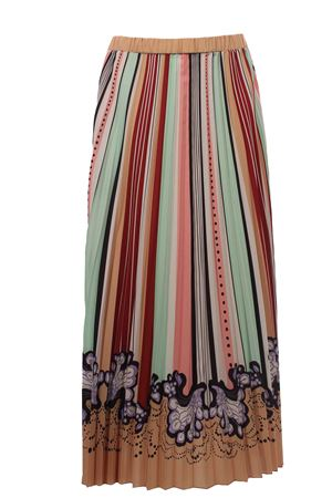 Long plissè skirt