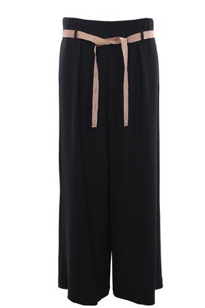 Pantaloni gamba larga con cintura ALYSI | 5032272 | 100125P0055NERO