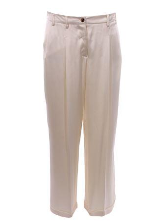 Pantaloni gamba larga con pinces ALYSI | 5032272 | 100153P0219RISO