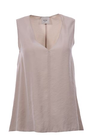 V-neck top