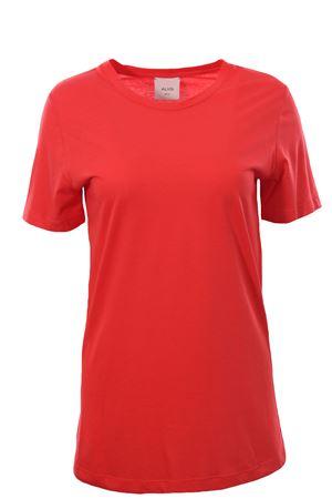 Crew neck t-shirt ALYSI | 8 | 100406P0048GERANIO
