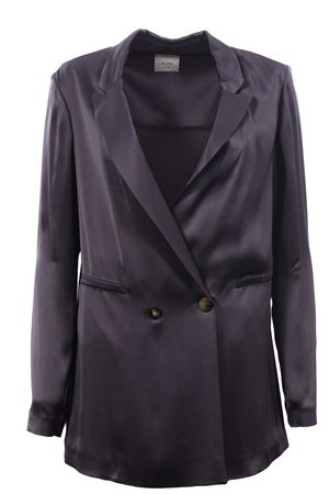 Double breasted long jacket ALYSI | 5032284 | 100818P0219FERRO