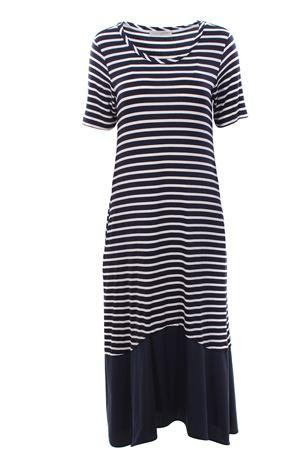 Long striped dress ANNA SERRAVALLI | 5032276 | S929201002