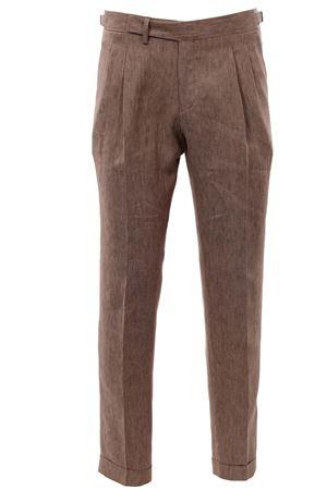 Pantalone sartoriale in active linen  BRIGLIA | 5032272 | QUARTIERI32011836