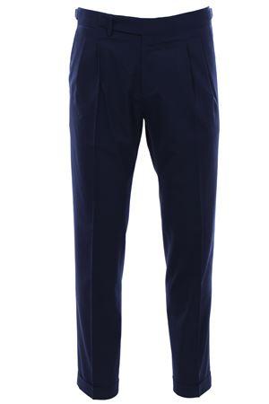 Pantalone sartoriale in tela di lana stretch BRIGLIA | 5032272 | QUARTIERI32012511