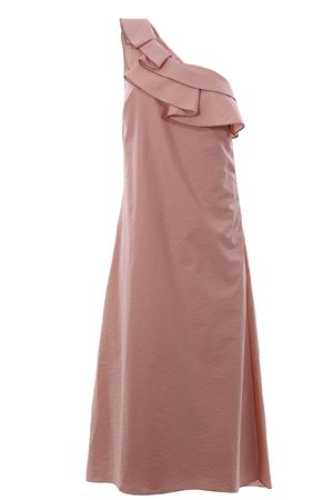 One shoulder long dress BRUNELLO CUCINELLI | 5032276 | M0F79A4577C9407