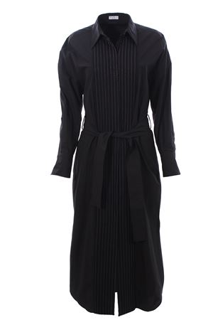 Long cotton shirt dress BRUNELLO CUCINELLI | 5032276 | MH127AMH81C101