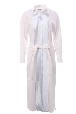 Long cotton shirt dress BRUNELLO CUCINELLI | 5032276 | MH127AMH81C600