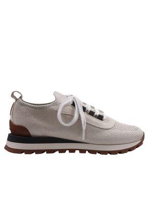 Cotton sneakers BRUNELLO CUCINELLI | 20000049 | MZ35G1804CS430