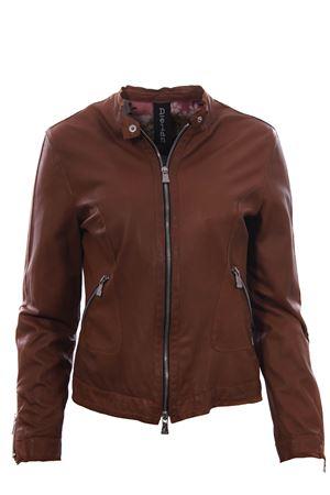 Biker zip in pelle DELAN | 5032285 | A402100835